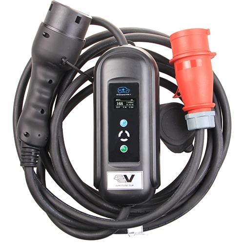 1-EV EVSE Type2 (3x16A) IP55 Cavo di Ricarica per Auto Elettriche